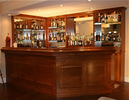 Stylish Home Bar I Like On Pinterest Home Bars Home Bar Designs And Custom Homes