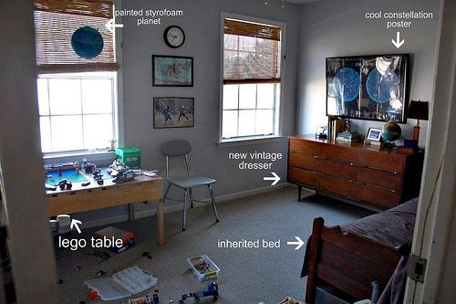 Custom design for kids room