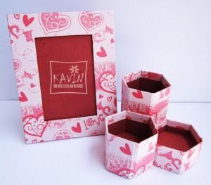 Diwali Gifts - Handmade Desktop Photo Frames