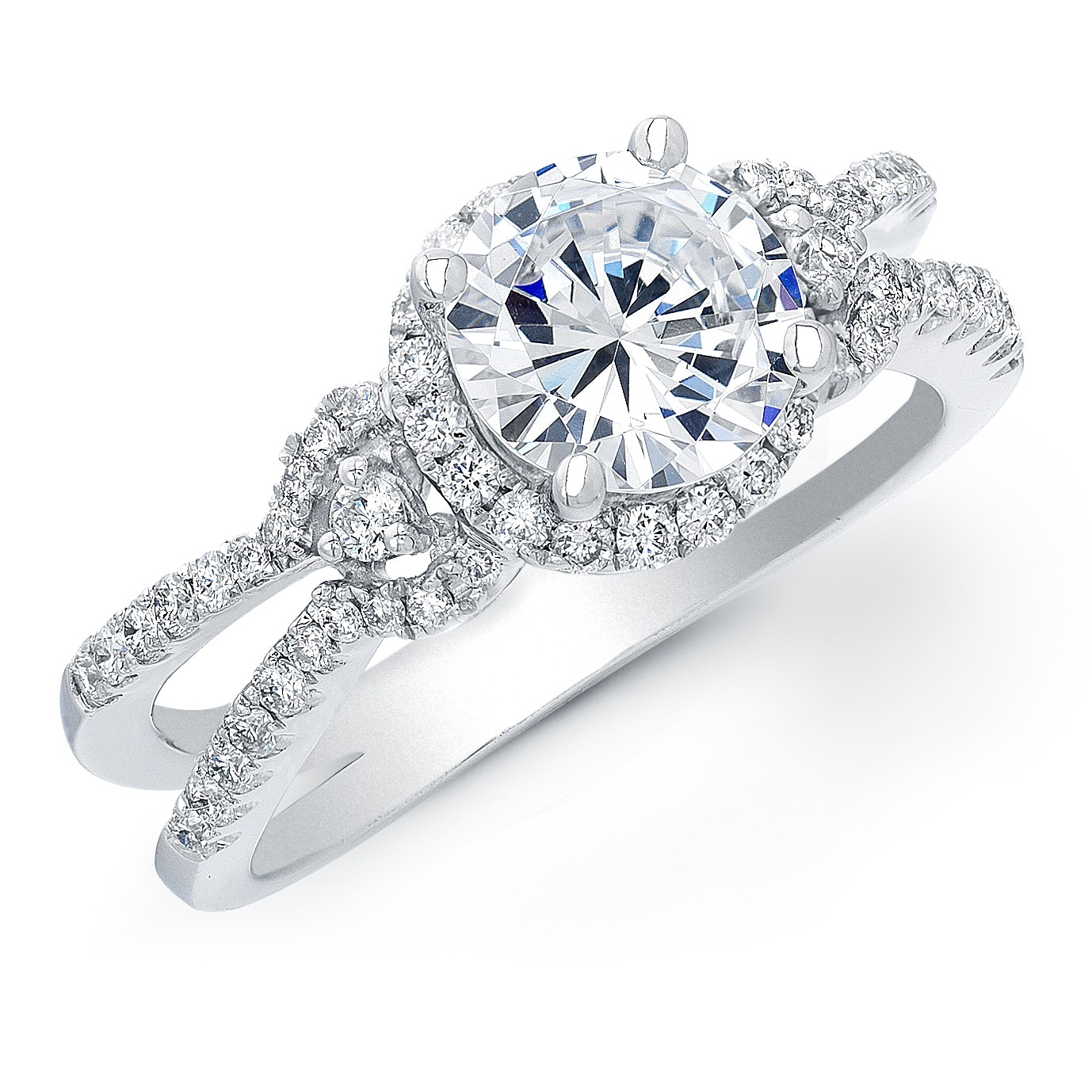 It is a graphic of How Far Would You Travel for the Perfect Engagement Ring?