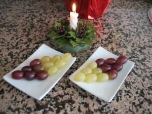 Eating twelve grapes, Spain