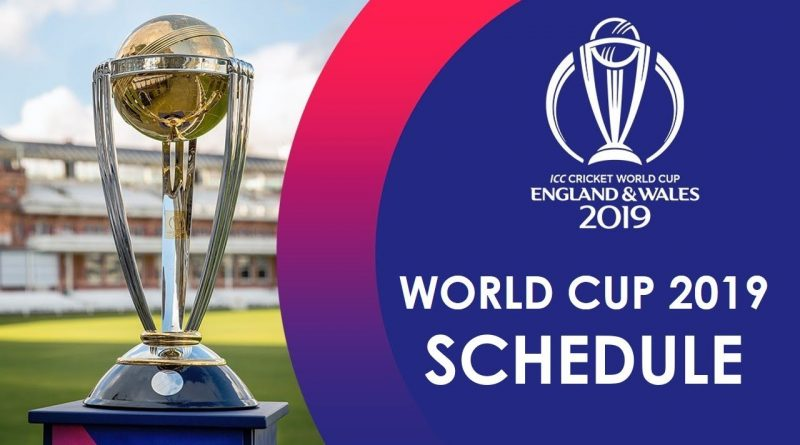 Icc Cricket World Cup 2019 Everything You Have To Know